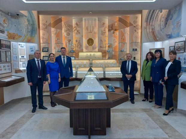 Посещение музея Национального банка Республики Беларусь